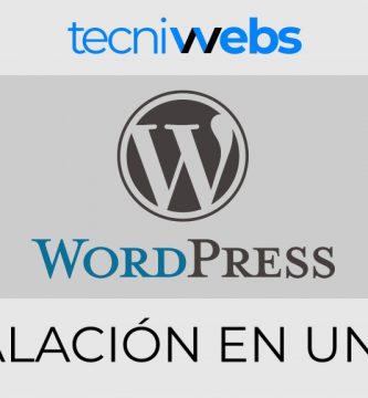 Instalar WordPress en un servidor de forma rápida