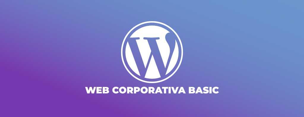 web corporativa wordpress basic