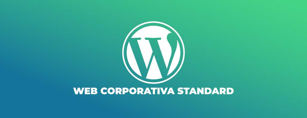 web corporativa wordpress standard